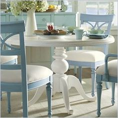 Stanley Furniture Coastal Living Cottage Round Pedestal Dining Table Review