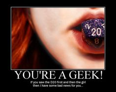 YOU'RE A GEEK! [Pic]