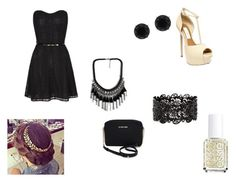 """""""date"""" by vanessablack103 on Polyvore"""
