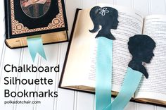 Learn how to make chalkboard silhouette bookmarks. They are a great diy gift for mother's day that kids can make Homemade Gifts For Mom, Diy Gifts For Mothers, Christmas Gifts For Parents, Great Gifts For Mom, Christmas Crafts, Sewing Blogs, Silhouette Projects, Diy Projects To Try, Diy For Kids