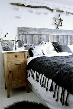 Confira fotos de 48 quartos com inspiração escandinava, cada um possui um detalhe diferente