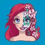 disney-ilustracoes-princesas-caveirasmexicanas-005
