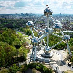 El Atomium. Fotografía de www.belgica-turismo.es