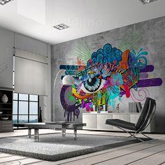 graffiti wallpaper for bedrooms - Google Search