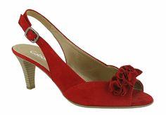 Gabor Dazzling Peep Toe Slingback Dress Sandal 61.800