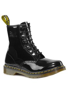Doc martin boots. Mine had purple laces and love hearts I painted with nail polish on them! Sigh. Those were the days...