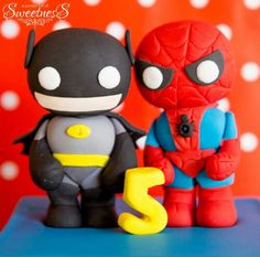 Batman and spidy