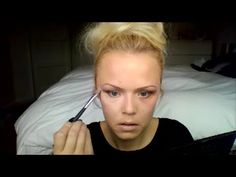 younique smoky eye tutorial with browns and full face make up transforma...