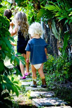 A Walk in Yard by @Maria Allebring part of the Playful Expressions Nature Play series on Let Children Play
