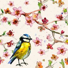 22276301-nature-seamless-texture-watercolor.jpg (1300×1300)