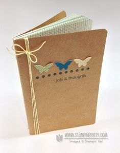The jots & thoughts notebook is simply adorable!