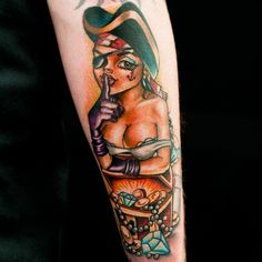pin up girl tattoo 31