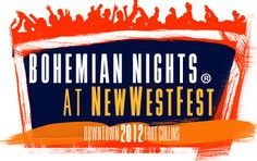 Fort Collins Bohemian Nights at NewWestFest --  Photo Credit to Downtown Fort Collins Official Website