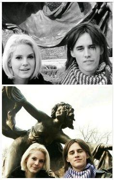 Lana Del Rey and ex-boyfriend Reeve Carney (ca 2007|2008) #LDR #Lizzy_Grant