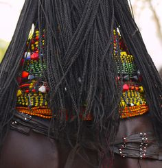 Africa | Details; Turkana woman. Lake Turkana, Kenya | ©Rita Willaert