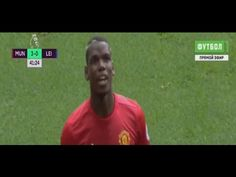Paul Pogba grabs first Red Devils goal - Man United vs Leicester City Football Latest, Paul Pogba, Man United, Leicester, Premier League, The Unit, Goals, City, Youtube