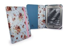 Tuff-Luv Slim Book-Style fabric case cover for Pocketbook 611 & Touch 622 / Bookeen Cybook Odyssey / Trekstor Pyrus 6 eBook eReaders - Duck Egg (Secret Garden) by Tuff-luv. $29.99. This bright yet simplistic floral Secret Garden duck egg case can be a fantastic addition to your eReader. When you're out and about, make sure your eReader is the perfect accessory. We have such confidence in the quality of this beautifully designed case we offer a LIFETIME GUARANTEE.Our simple ...