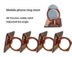 J&S Simpliest Universal Smartphone Mount 360 Degree Rotation Mobile Phone Ring Stent (Gold) -- Awesome products selected by Anna Churchill