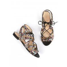 Sandale BANKABLE Noir - Chaussures Printemps-Eté - NOUVELLE CO'