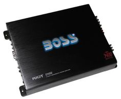 Boss Audio R3400D Class D Monoblock Power Amplifier with Remote Subwoofer Level Control by BOSS. $87.29. Your first view of the RIOT Series may deceive you. The elegant lines are a textbook exercise in minimalist design. From this point on, however, its power and reproductive authenticities will be anything but minimal. Perhaps the only thing more extensive than the features showcased is the enjoyment you'll derive from them. This is only one reason BOSS Audio has led the way...