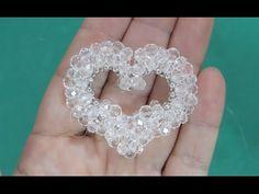 Coração de Cristal para colares | chaveiros | tiaras e chinelos - Maguida Silva - YouTube