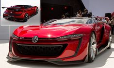 Gran Turismo supercar becomes a REALITY: Volkswagon makes 190mph GTI Roadster inspired by Sony game