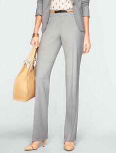 Talbots - Heritage Seasonless Wool Straight-Leg Pants |  ~~