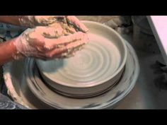 Pottery Making: How to Make Plates and Platters