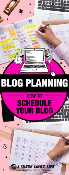 Blog Planning 101: How To Schedule Your Blog - For beginners to advanced bloggers including ideas, a calendar, planner, worksheet and an awesome template. When starting a blog we design it with many ideas and great inspiration but often overlook a blog planner or blog schedule. If your blogging for money, lifestyle, have great topics or posts, you need a plan with a template, daily routines, weekly goals, a calendar, organized posts and ideas as well as structured social media. This website…