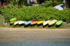Grab a kayak!