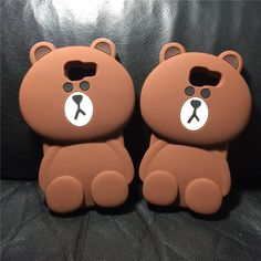 Luxury 3D Cute Cartoon Bear Soft Silicone shockproof Protective Back Cover Case For Samsung Galaxy A3 A310 A5 A510 A7 A710 2016