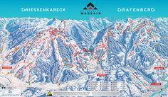 Wagrain Piste Map (High resolution / .JPEG) #skiamade #wagrain #austria #skiing