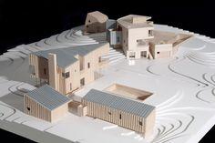 House by Morris Sato Studio, architectural model, modulo