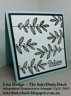 Lighthearted Leaves Stampin Up