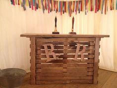 Pallet bar - Back porch