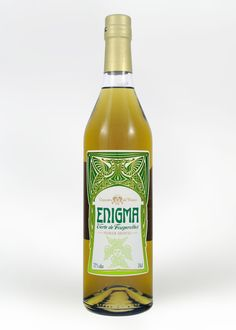 Absinthe Enigma Verte is a top seller. And I love the bottle.