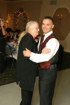 Grandma Betty and Brian