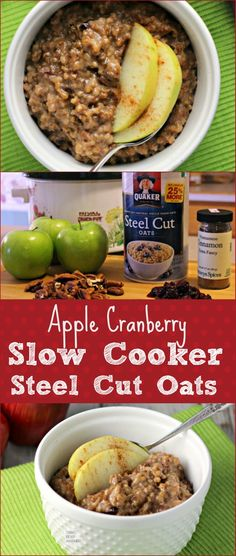 A warm, hearty breakfast cooks all night while you sleep in your slow cooker!