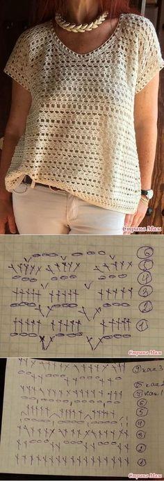 . Помогите найти схему вязания топа - Вязание - Страна Мам