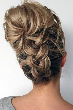 Fancy Updos for Medium Length Hair ★ See more: http://lovehairstyles.com/fancy-updos-for-medium-length-hair/