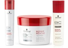 Schwarzkopf Bonacure Repair Rescue Kit *** You can find more details by visiting the image link. #hairinspiration
