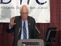 Bernie Sanders Speech at South Caroline Democratic Woman's Council 11/7/15