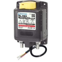Blue Sea 7717 ML-RBS Remote Battery Switch w/Manual Control Auto-Release - 24V - http://discreetsys.com/shop/marine-rv/blue-sea-7717-ml-rbs-remote-battery-switch-wmanual-control-auto-release-24v/