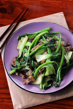 Beef and Asian Greens Stir Fry @angsarap