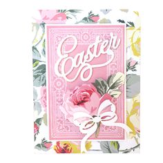 March   2016   Anna's Blog  Sweet Salutations Pop Up Card Making Kit and the Seasonal Spring Cutting Dies, both of which contained fabulous Easter themed elements