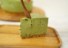Cheesecake de té matcha, receta paso a paso