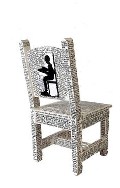 A reading chair = LOVE=auction idea...students choose lines from favorite books...titles too