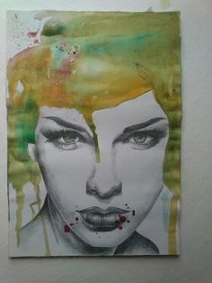 My art, drawing and watercolour, what a match! - Christina Halvorsen