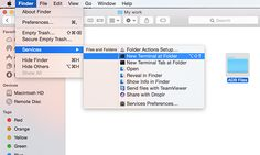 How to Launch Terminal in the Current Folder Location on #Mac