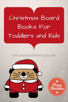 Christmas Board Books for Toddlers and Kids
